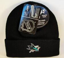 San Jose Sharks NHL Zephyr Cuffed Knit Hat Black