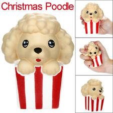 Cute Dog Soft Christmas Poodle Slow Rising Scented Stress Relief Kids Toy