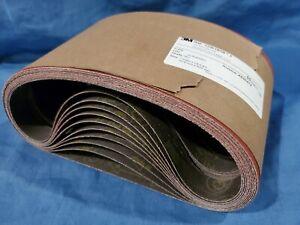 "3M Cubitron II 784F 1"" x 24"" 80+ Grit  Cloth Belt Singleflex fabri-lok LOT OF 50"