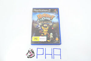 Ratchet And Clank Size Matters PS2 GAME COMPLETE PLAYSTATION