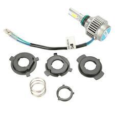 H4 H6 32W COB LED Bulb Hi/Low Beam Headlight 6500K Fit for Motorbike Sport bike