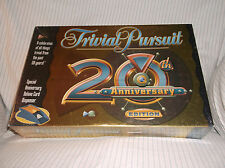 TRIVIAL PURSUIT 20TH ANNIVERSARY EDITION TRIVIA BOARD GAME - HASBRO 2002 - NEW