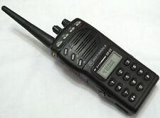 Motorola GP68 UHF 430-470MHz 4W 20 Channel 2-Way Radio + Accessories W/O BATTERY