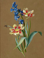 """perfect 24x36 oil painting handpainted on canvas """" flowers""""@N13650"""