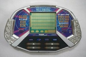 Who Wants to Be A Millionaire Tiger Vintage Handheld Game TV show travel game
