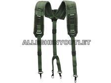 MINT Padded Suspenders US Military Pistol Belt Load Carrier Pack Equipment Alice