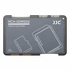 JJC-MCH-SDMSD6GR 4 MICRO SD 2 SD CARD HOLDER