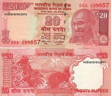 India New 200 Rupees UNC Replacement Star Series Banknote 2CC Prefix 2017