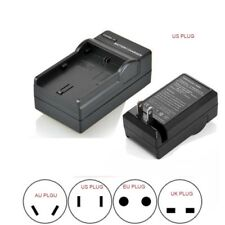 Battery Charger For Panasonic DMW-BCF10E CGA-S009 Lumix DMC-F2 F3 F3K F3P F3S