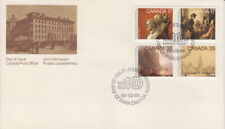CANADA #849-852 ACADEMY OF ARTS COMBINATION FIRST DAY COVER - A