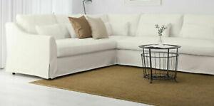 NEW Ikea FARLOV 5 Seat Sectional Sofa LEFT Cover Slipcover FLODAFORS WHITE