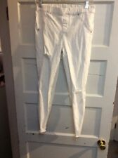 Women's Vera Wang white jeans  stretch waist size small kw