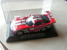 voiture 1/43    chrysler viper gts  2004      serie 6