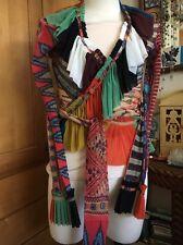 Vintage Jean Paul Gaultier Soleil Tribal Mesh Tattoo Wrap Top Christian Lacroix