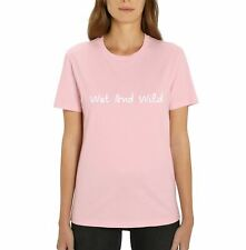 Love Island Wet and Wild Ladies Pink T-Shirt