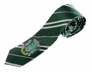 Harry Potter Slytherin Necktie Tie Halloween Costume USA Cosplay