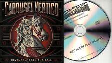 CAROUSEL VERTIGO Revenge Of Rock And Roll 2017 UK 10-trk promo test CD + single