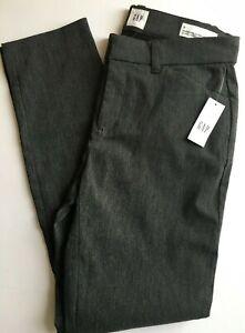 Women's GAP Grey Skinny Ankle Stretch Trousers UK4  RRP £39.99