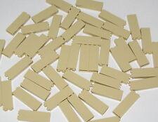 LEGO LOT OF 50 TAN 1 X 2 X 5 PILLARS BUILDING BLOCKS PIECES