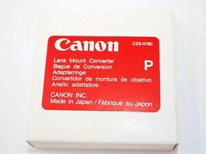 Canon Lens Mount Converter P