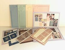 Set 4 Packs Creative Memories Paper Note Pad Frame Picture Stickers Scrapbooking