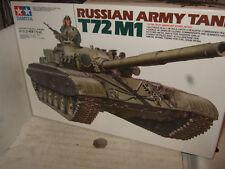 Tamiya 35160 Russian Army Tank T72 M1 Model Kit in 1:35 Scale.