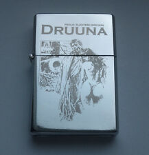 DRUUNA - chrome petrol lighter ------------------ [Cd:719.mc-40-lP.] mini poster
