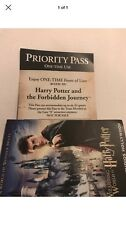 Universal Studios Hollywood Front Of The Line Priority Pass Harry Potter