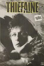 """""""Hubert-Félix THIEFAINE"""" Affiche originale entoilée (Photo DOCTEUR FAUST 1985)"""