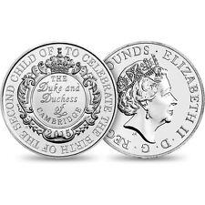 2015 United Kingdom The Royal Birth £5 Brilliant Uncirculated Coin