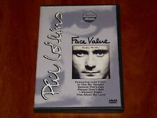 PHIL COLLINS FACE VALUE DVD CLASSIC ALBUMS DOCUMENTARY FOOTAGE INTERVIEW New
