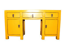 JAUNE Mini table console ASIE meubles typique chine jaune 2