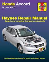 Honda Accord 2013-2017 Repair Manual