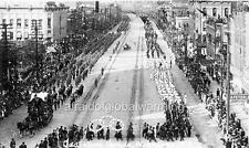 "Photo 1912 Winnipeg Canada ""Odd Fellows Parade"""