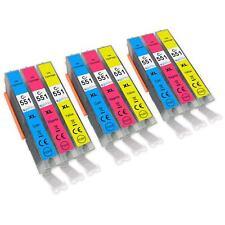 9 C/M/Y Printer Ink Cartridges for Canon PIXMA iP7200 iX6850 MG5650 MG6650 MX725