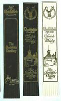 Leather Bookmark Glenfiddich Distillery Scotch Whisky Scottish Scotland Gift Man
