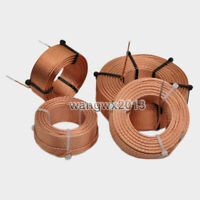 0.22mH~2.9mH 1.0mm Hollow circular skeleton Audio Divider inductor Copper coil
