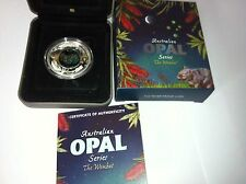2012 $1 Australian Opal Series - The Wombat 1oz Silver Proof Coin
