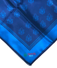 SCOUTS OF MEXICO / MEXICANA - OFFICIAL UNIFORM BLUE NECKERCHIEF (N/C) SCARF