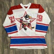 Vintage Russian Penguins Jersey Xl 90s Nhl Rare Pittsburgh