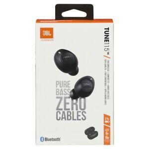 📀 JBL Tune 115TWS True Wireless Bluetooth In-Ear Headphones - Black