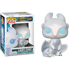 How to Train Your Dragon 3: The Hidden World Light Fury Dragon Pop! Vinyl Figure
