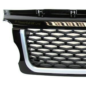 Black Autobiography style front grille for Range Rover SPORT 05-09