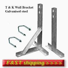 "610 mm ( 24"" ) T & K Wall Bracket  Galvanized Steel - Aerial & Satellite Dish"