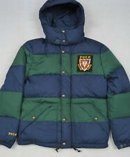 Polo Ralph Lauren Puffer Quilted Down Jacket Crest Hooded Coat XL NWT $398