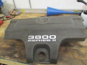 GM 3800 SERIES II PLASTIC ENGINE COVER V6 BUICK PONTIAC LESABRE OLDSMOBILE USED