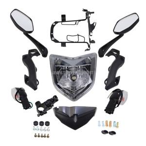 Head Light Assembly Headlight Set Turn Signals Light For Yamaha FZ1N 2006-2012