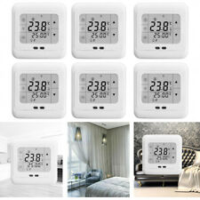 7 Days Touchscreen Electric Underfloor Heating Thermostat Temperature Controll