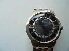 Fossil men's dress,battery & water resistant Analogwatch with extra link.Fs-4131