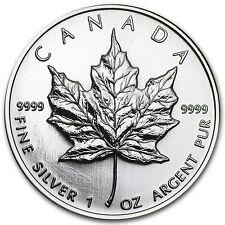 1998 Canada 1 oz Silver Maple Leaf BU - SKU #11062